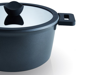 10-delige keramische pannenset | Inclusief 4 gratis opbergbakjes met hersluitbare deksels
