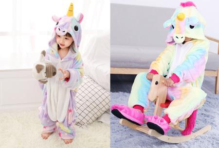 Unicorn onesie voor kinderen | Zacht, warm en comfortabel eenhoorn huispak