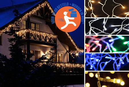 IJspegel sfeerverlichting met 96 of 216 LED's | Super gezellig én energiezuinig