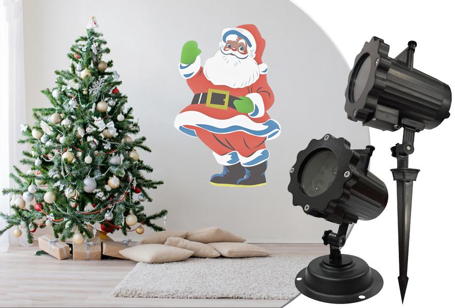 60% korting - Benson Kerst laser projector lamp