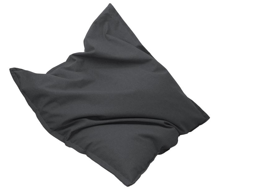 Drop & Sit stoffen zitzak 130 x 150 cm - Antraciet