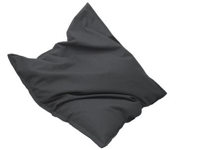 Drop & Sit stoffen zitzak | Ultiem comfort en een stijlvolle uitstraling in je interieur antraciet