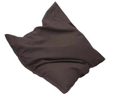 Drop & Sit stoffen zitzak | Ultiem comfort en een stijlvolle uitstraling in je interieur bruin