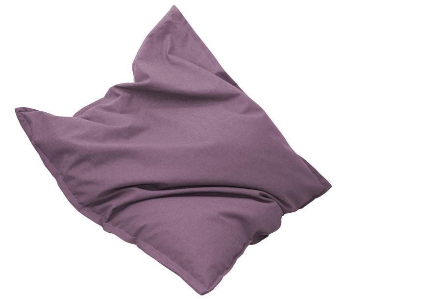 Drop & Sit stoffen zitzak 130 x 150 cm - Magnolia roze