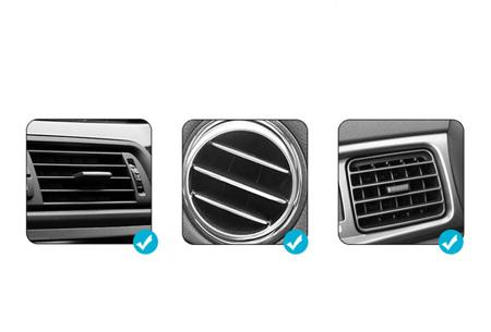 Carholder met draadloze oplader | Laad jouw smartphone op tijdens de autorit