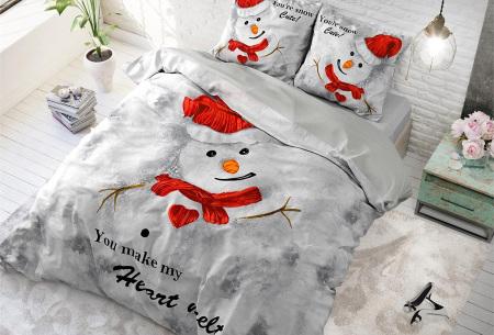 Kerst dekbedovertrekken 100% katoen | Droom weg in de kerstsfeer