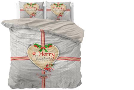 Kerst dekbedovertrekken 100% katoen | Droom weg in de kerstsfeer Merry Christmas