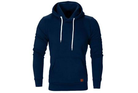 Heren hoodie | Hippe & comfortabele sweater met warme fleece binnenzijde