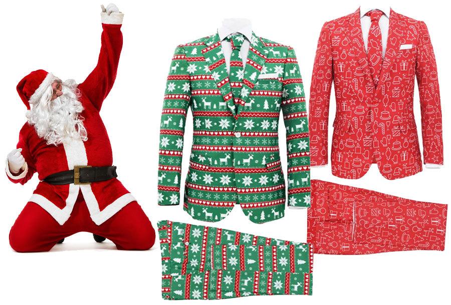 Tweedelige kerstpakken voor heren