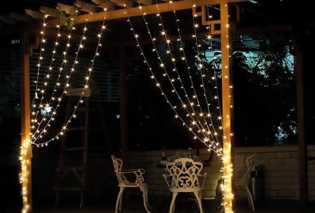 LED lichtgordijn met 300 lampjes incl. afstandsbediening | Sfeervolle verlichting, perfect voor de feestdagen! warm wit