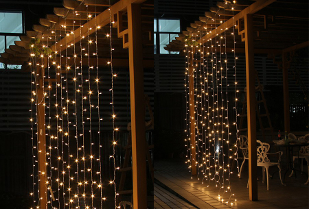 LED lichtgordijn met 300 lampjes incl. afstandsbediening | Sfeervolle verlichting, perfect voor de feestdagen!