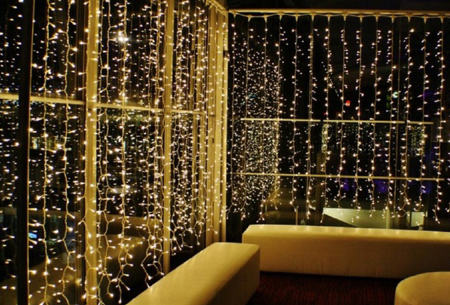 LED lichtgordijn met 300 lampjes | Sfeervolle verlichting, perfect voor de feestdagen!