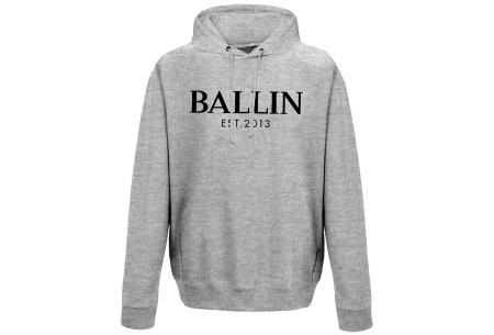 Ballin Est. 2013 heren hoodie | 100% katoen in 5 neutrale kleuren  grijs