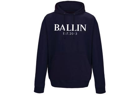 Ballin Est. 2013 heren hoodie | 100% katoen in 5 neutrale kleuren  navy