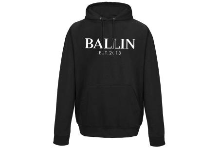 Ballin Est. 2013 heren hoodie | 100% katoen in 5 neutrale kleuren  zwart
