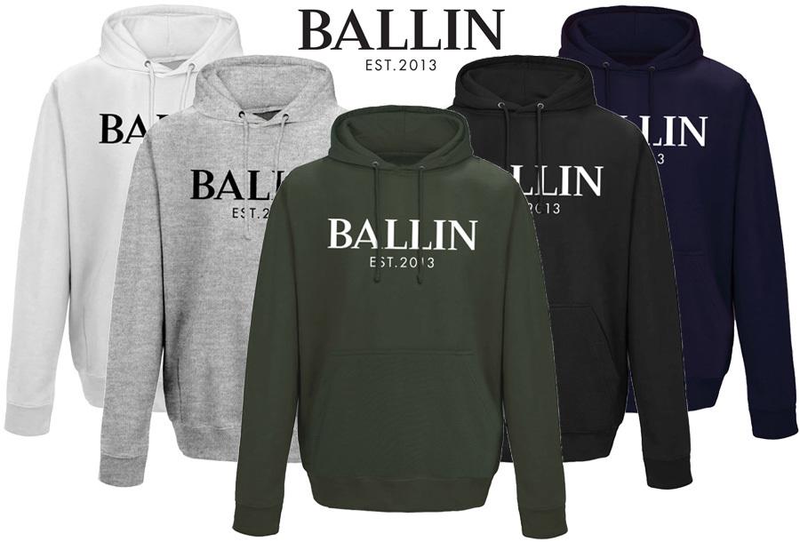 56% korting - Ballin Est heren hoodie