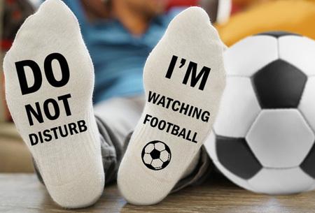 60% korting - Voetbalsokken