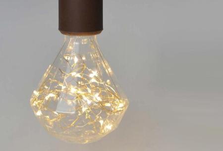 Fairy LED lamp in 9 modellen | Feestelijke lichtbronnen met wirwar aan lichtjes Diamant