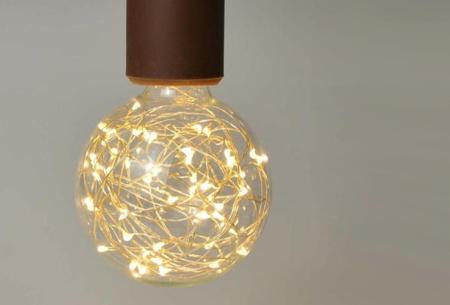 Fairy LED lamp in 9 modellen | Feestelijke lichtbronnen met wirwar aan lichtjes G80