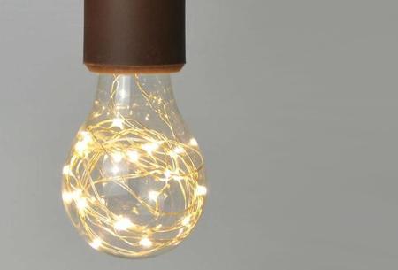Fairy LED lamp in 9 modellen | Feestelijke lichtbronnen met wirwar aan lichtjes A60