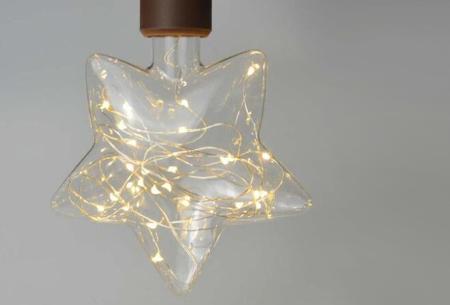 Fairy LED lamp in 9 modellen | Feestelijke lichtbronnen met wirwar aan lichtjes Ster