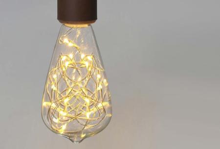 Fairy LED lamp in 9 modellen | Feestelijke lichtbronnen met wirwar aan lichtjes ST64
