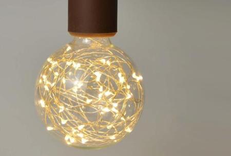 Fairy LED lamp in 9 modellen | Feestelijke lichtbronnen met wirwar aan lichtjes G95