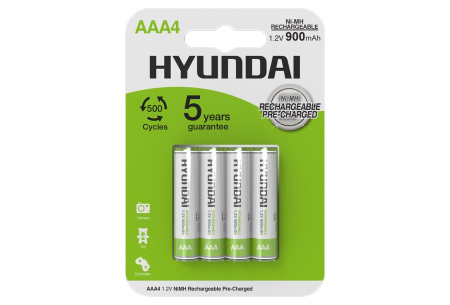 Hyundai oplaadbare batterijen | AA of AAA batterijen - 8- of 16-pack AAA