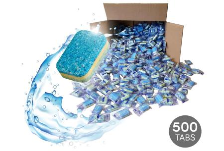 500 stuks vaatwastabletten | Professionele kwaliteit voor een spotprijs