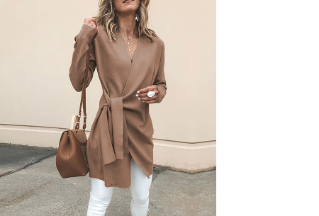 Overslag dames vest | Comfortabel en chique in één