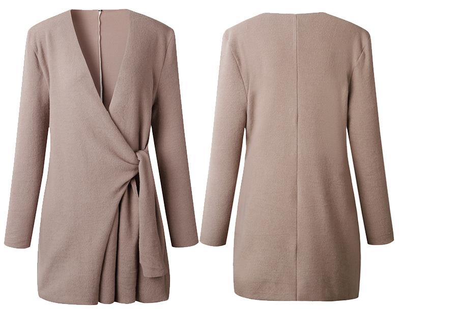 Dames overslagvest Maat XL - Khaki