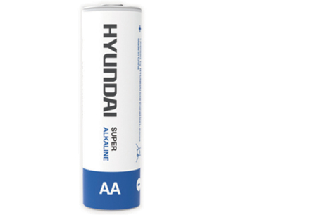 Hyundai 60-pack batterijen AA of AAA | Super Alkaline voor een extra lange levensduur 60x AA