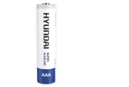 Hyundai 60-pack batterijen AA of AAA | Super Alkaline voor een extra lange levensduur 60x AAA