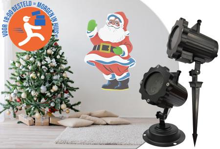 Benson Kerst laser projector lamp - in de aanbieding