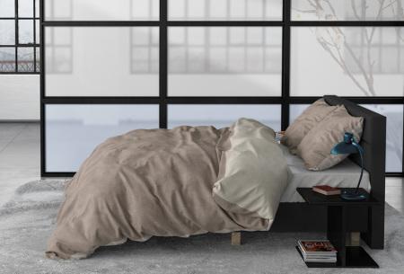 Flanellen dekbedovertrek van Sleeptime | Houdt jou warm tijdens de koude nachten