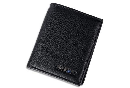 Smart wallet met bluetooth 4.0 | Met anti-diefstal functie! zwart