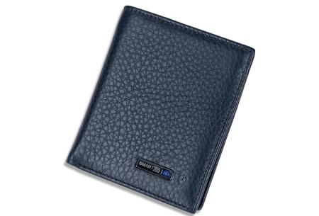 Smart wallet met bluetooth 4.0 | Met anti-diefstal functie! blauw
