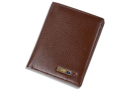 Smart wallet met bluetooth 4.0 | Met anti-diefstal functie! bruin