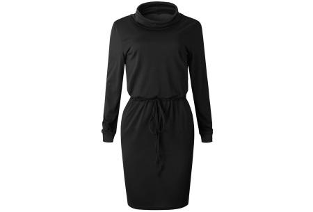 Comfy coljurk | Elegant en comfortabel in één Zwart