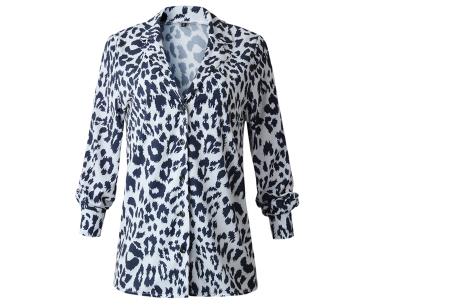 Dierenprint blouse | Trendy dames blouse voor een stijlvolle look A