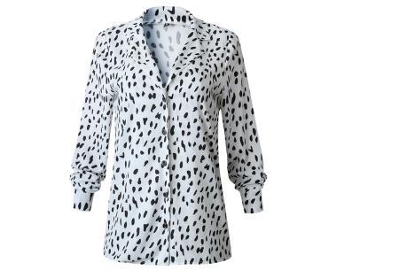 Dierenprint blouse | Trendy dames blouse voor een stijlvolle look C