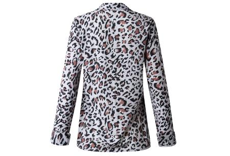 Dierenprint blouse | Trendy dames blouse voor een stijlvolle look