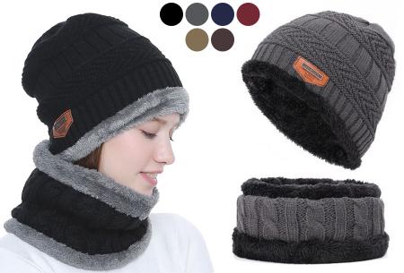 Fleece muts met of zonder bijpassende fleece sjaal nu met korting in de sale