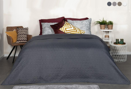Loft Seven bedsprei van luxe hotelkwaliteit | Verkrijgbaar in 4 kleuren