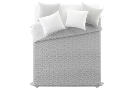 Loft Seven bedsprei van luxe hotelkwaliteit | Verkrijgbaar in 4 kleuren  grijs