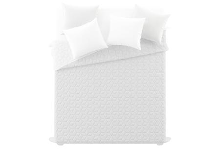 Loft Seven bedsprei van luxe hotelkwaliteit | Verkrijgbaar in 4 kleuren  wit