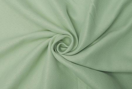 Larson hotelkwaliteit verduisterende gordijnen | Visgraat motief gordijnen voor een mooie prijs Soft Mint
