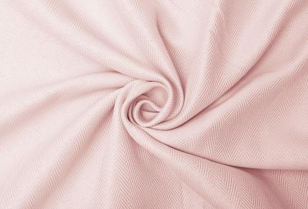Larson hotelkwaliteit verduisterende gordijnen | Visgraat motief gordijnen voor een mooie prijs Soft Pink