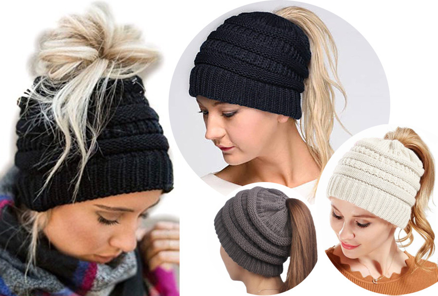 53% korting - High ponytail muts