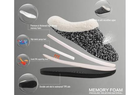Memory foam sloffen | Comfortabel en heerlijk warm